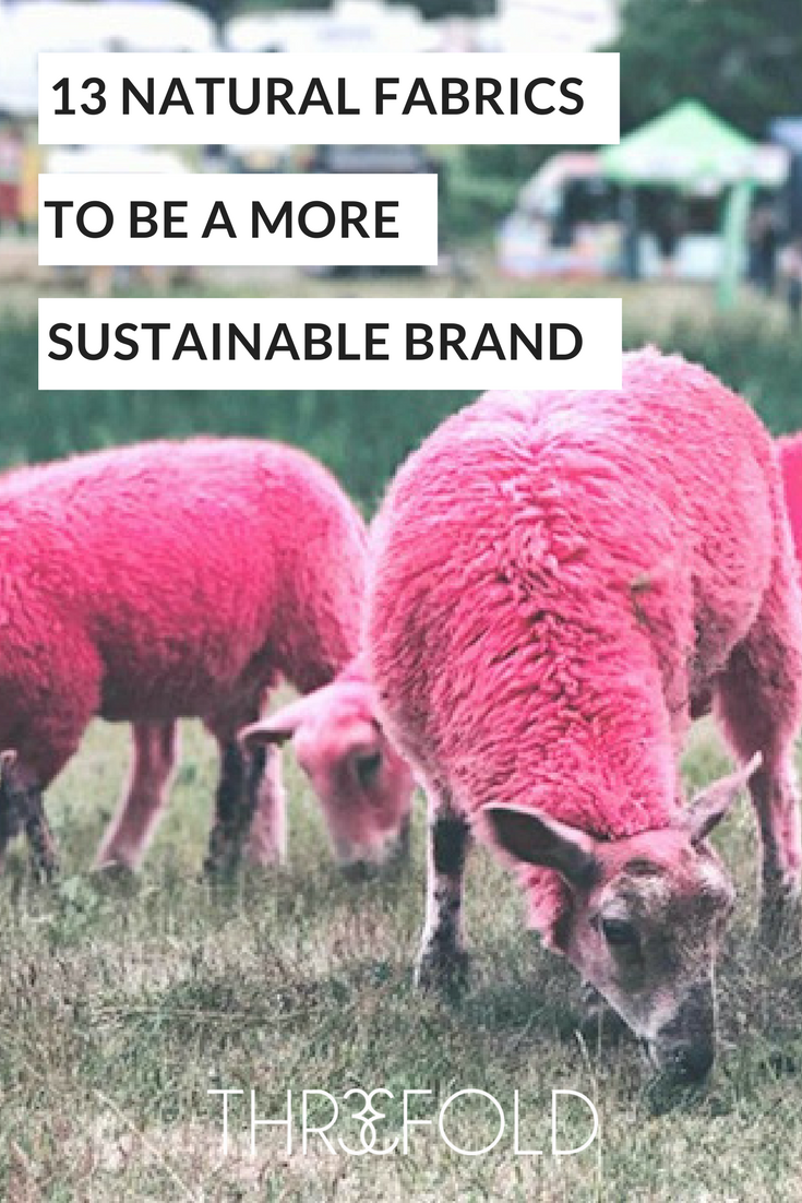 natural fibres list for sustainable fashion brands