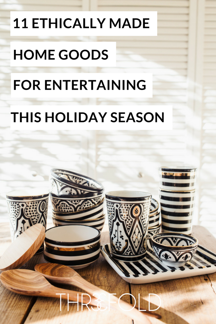 fair trade home goods