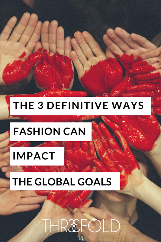 the global goals in fashion