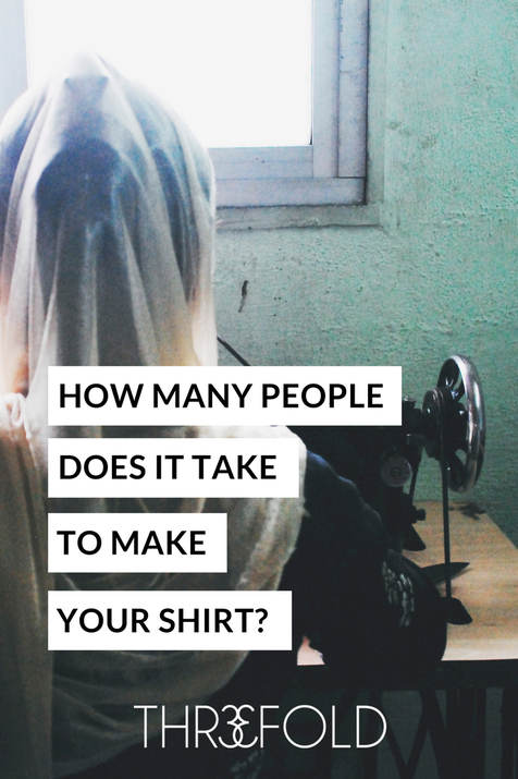 how many garment workers made my shirt