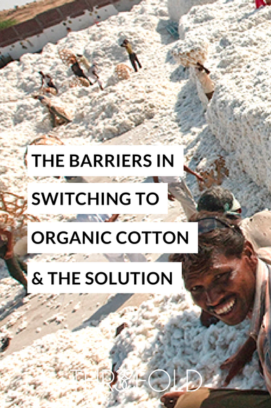 how to switch to organic cotton farming