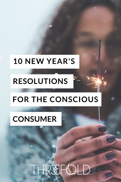 conscious consumer new year's resolutions