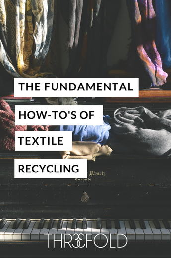 how to recycle old clothing