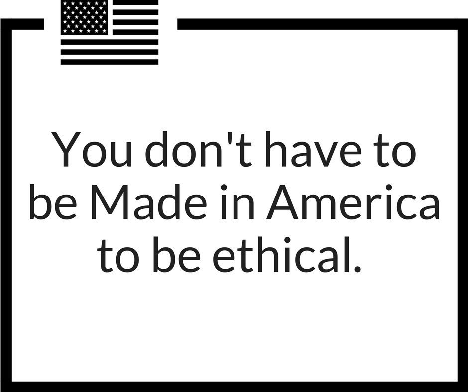 ethically made fashion