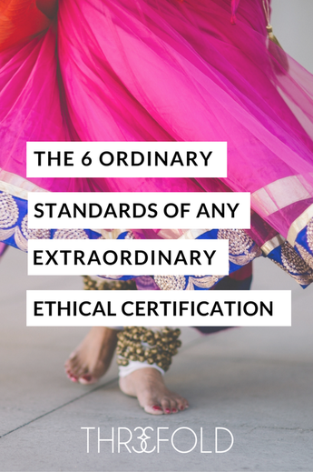 Ethical Certification standards