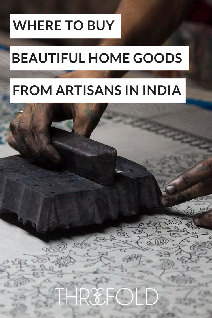 Beautiful home goods made in India