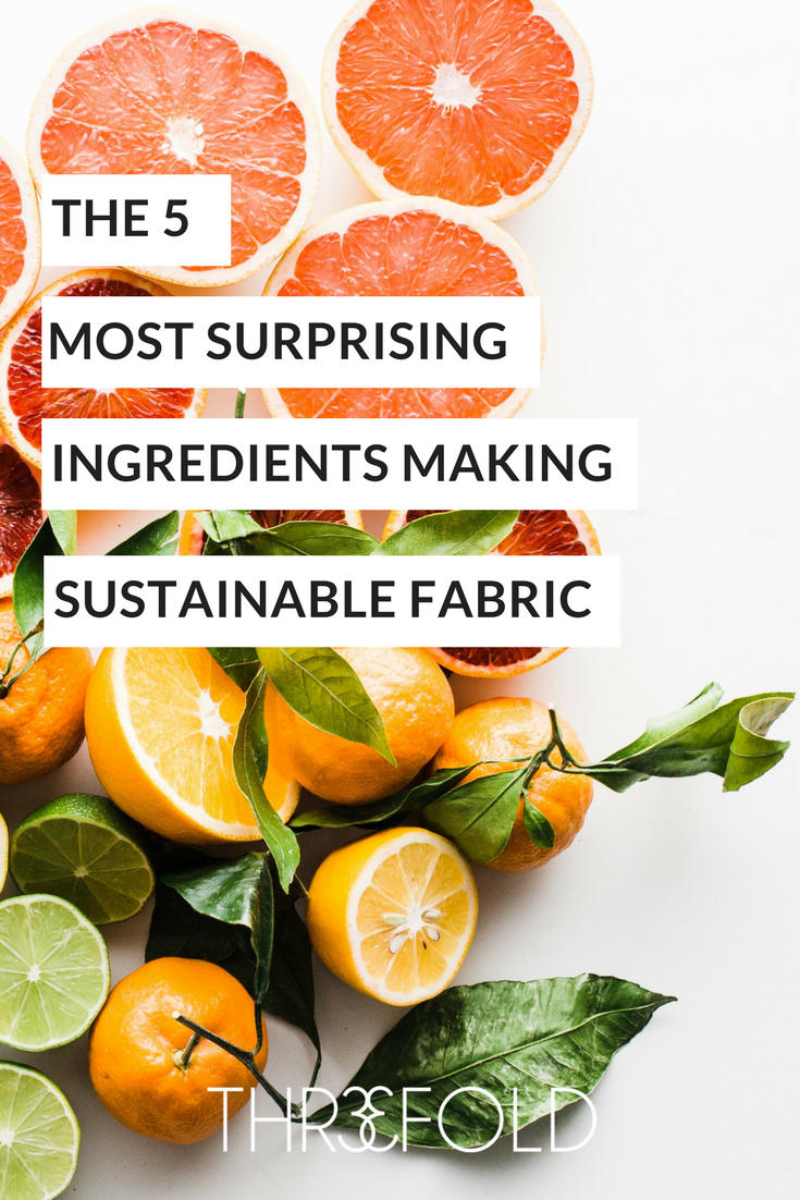 surprising food making sustainable fabric