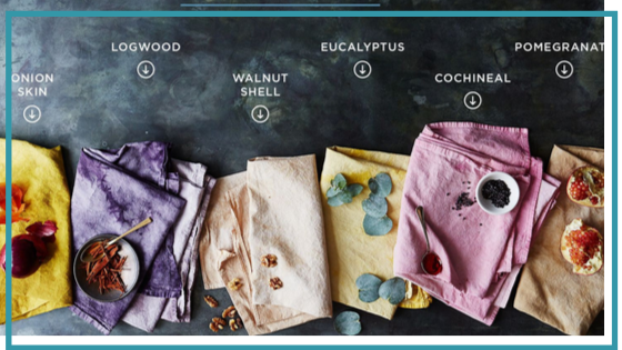 natural dyeing textile options