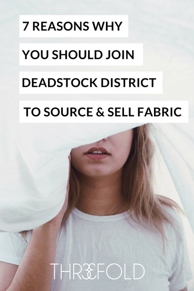 where to source deadstock fabric