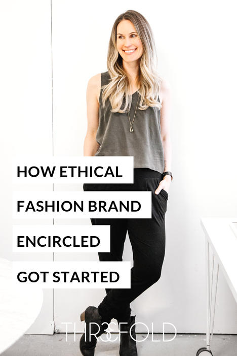 How to start an ethical fashion brand like Encircled